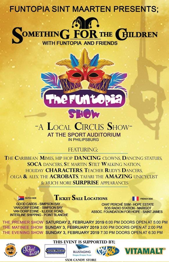 The Funtopia Show | St Maarten Events